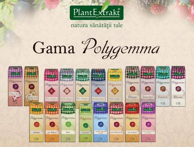 Polygemma nr. 14 50ml (ARTICULATII-DETOXIFIERE) PLANTEXTRAKT 1