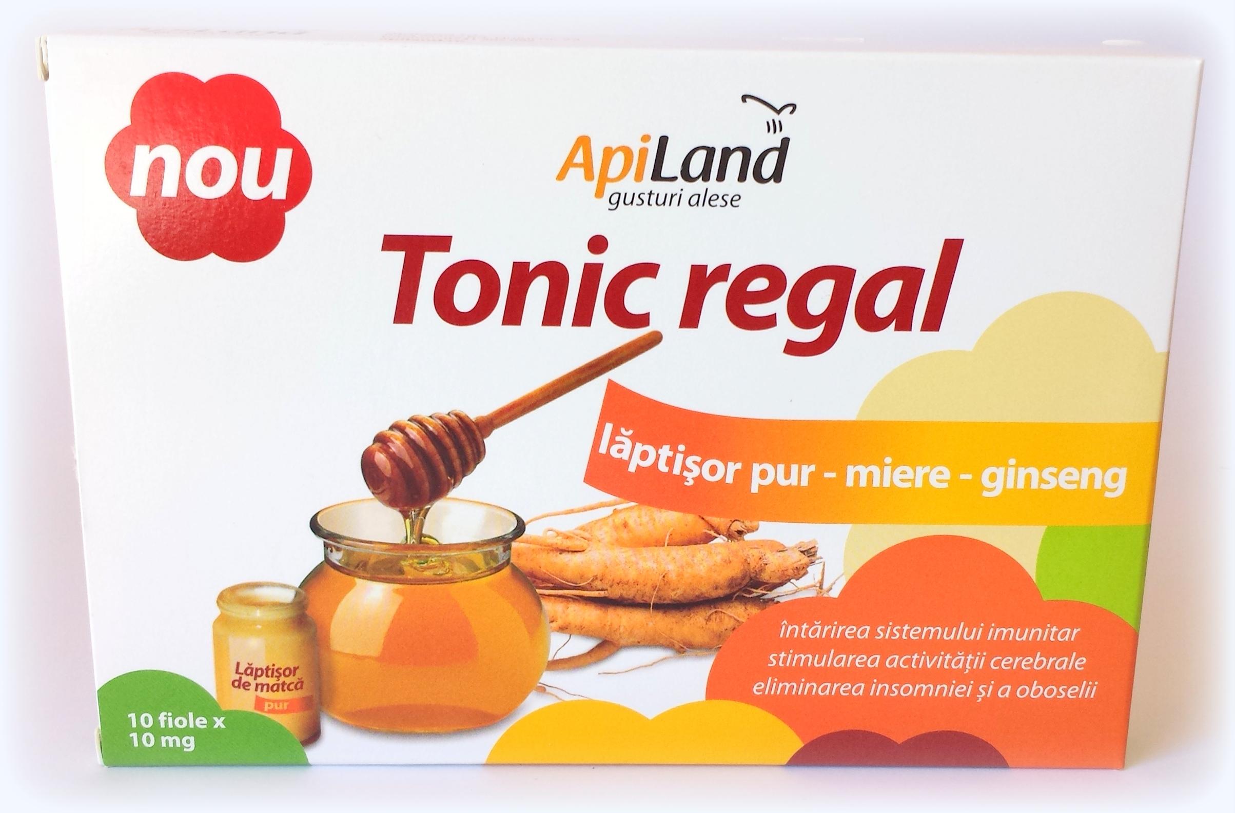 Apiland lanseaza 2 tonice apicole: Tonicul regal si Tonicul apicultorului