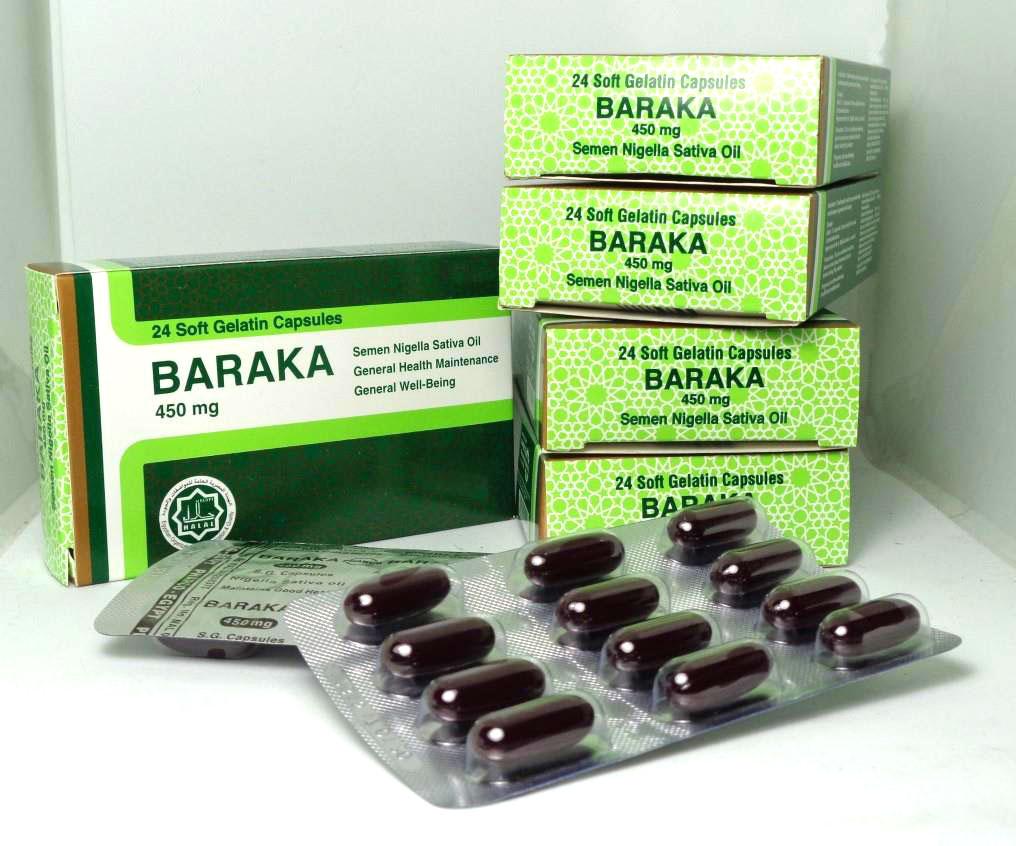 Baraka - Capsule ulei de negrilica