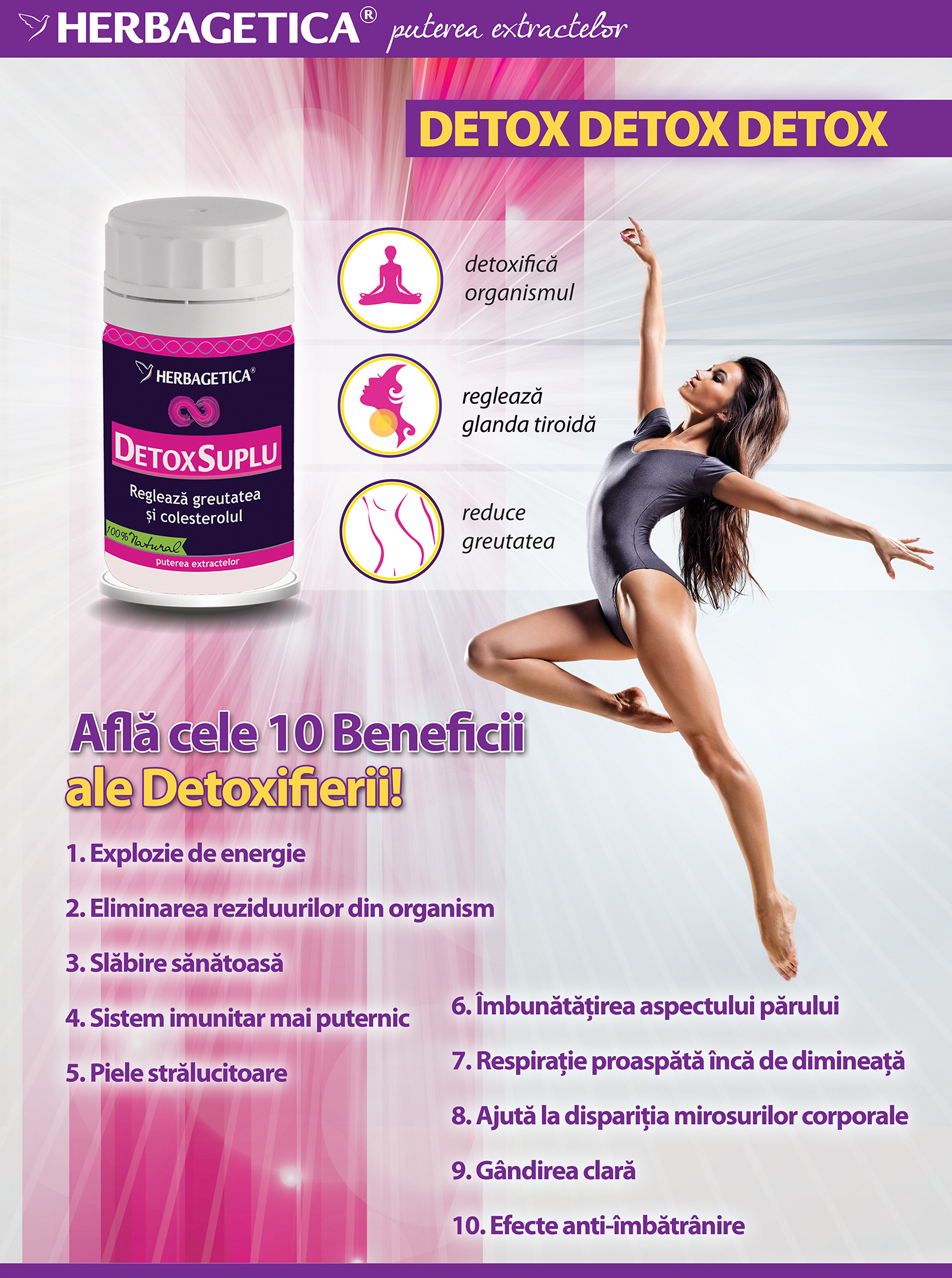 10 beneficii ale detoxifierii
