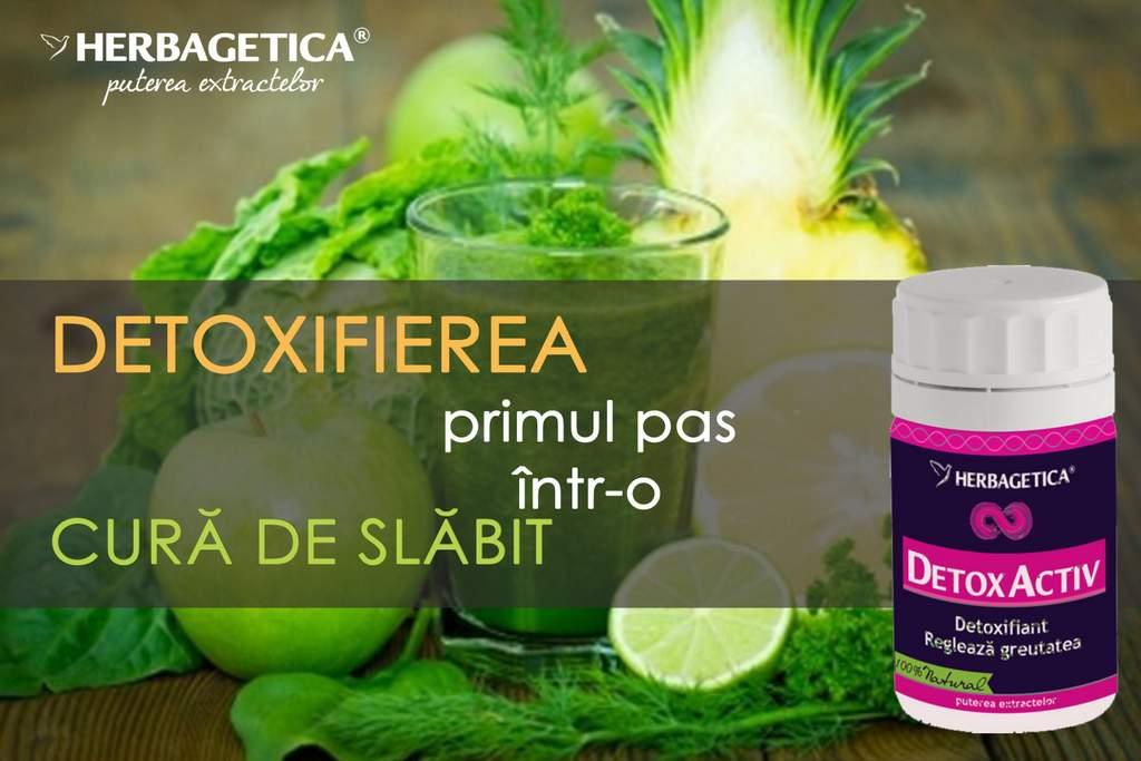 Cura de detoxifiere – curăţarea organismului şi primul pas într-o cură de slăbire