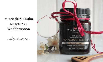 Mierea de Manuka Kfactor 22 – editie limitata