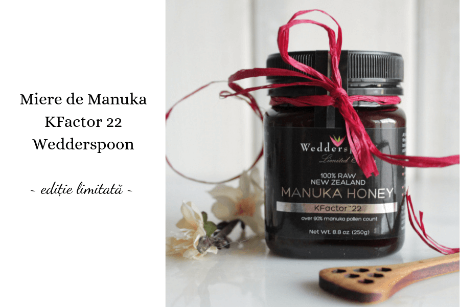 Miere de Manuka KFactor 22 Wedderspoon