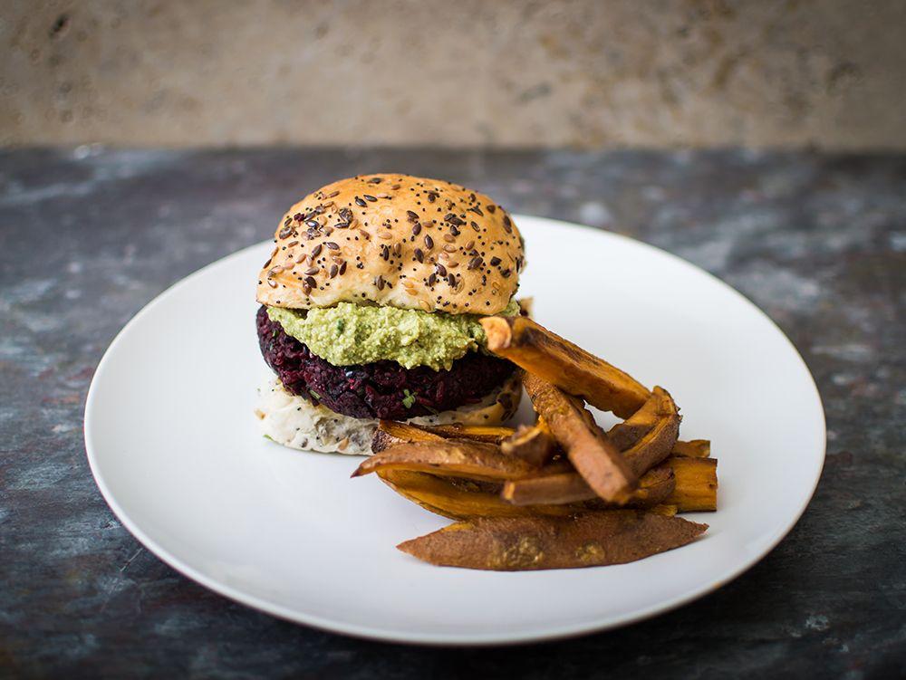 Burger vegetal cu coriandru