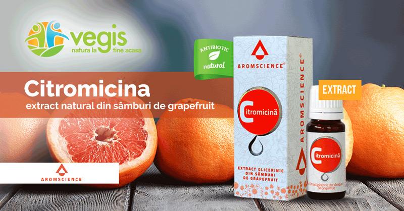 Citromicina – Extract din seminte de grapefruit beneficii