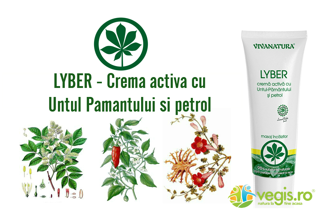Crema Lyber VivaNatura – proprietati si beneficii