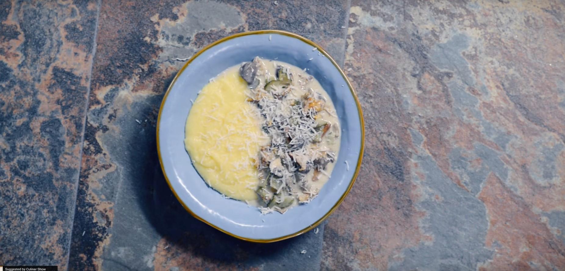 Tocanita cu ciuperci – reteta de toamna