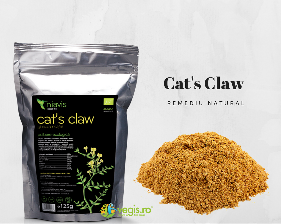 Cats Claw sau Gheara Matei - pulbere