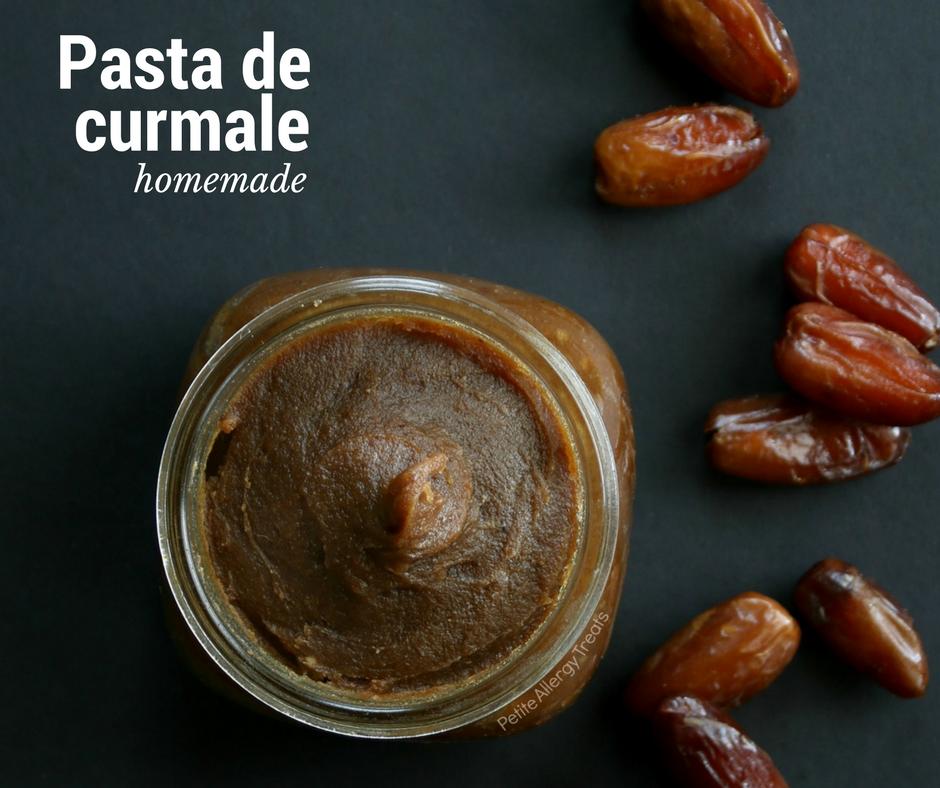 Indulcitor natural pentru prajituri – pasta de curmale homemade