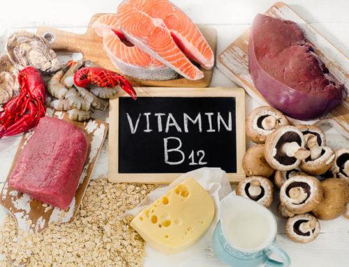 Rolul Vitaminei B12 și simptomele deficientei