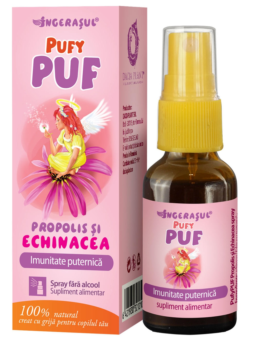 Spray Pufy Puf Propolis si Echinacea