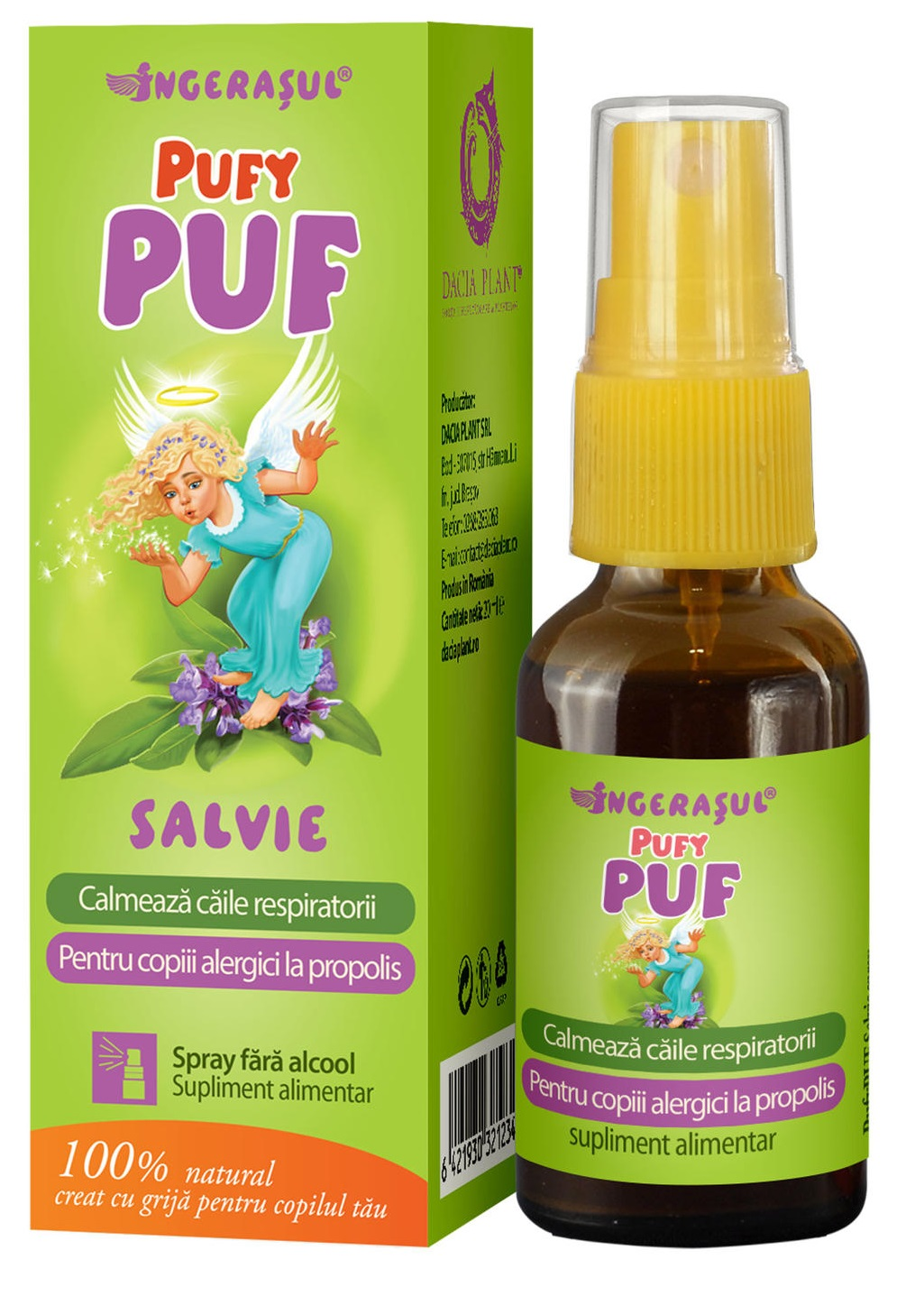 Spray Pufy Puf Salvie