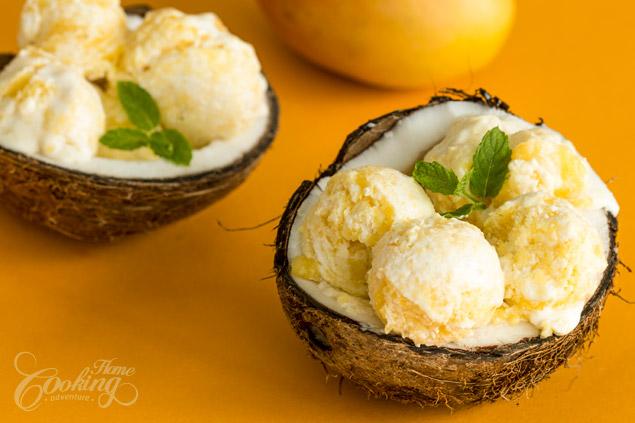 iaurt inghetat cu mango