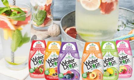 Îndulcitorii Water Drops Sweetleaf te ajută să consumi mai multă apă!