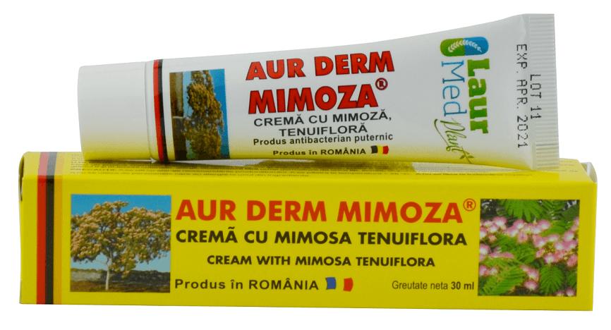 Aur Derm Crema cu Mimoza tenuiflora
