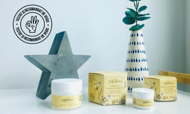 Review cosmetice anti-aging Apiterra cu miere și lăptișor de matcă