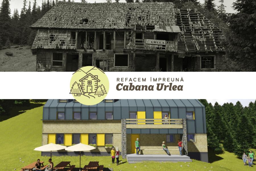 Refacem împreună Cabana Urlea, un simbol al Munțiilor Făgăraș!