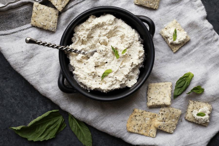 rețetă de brânză vegană