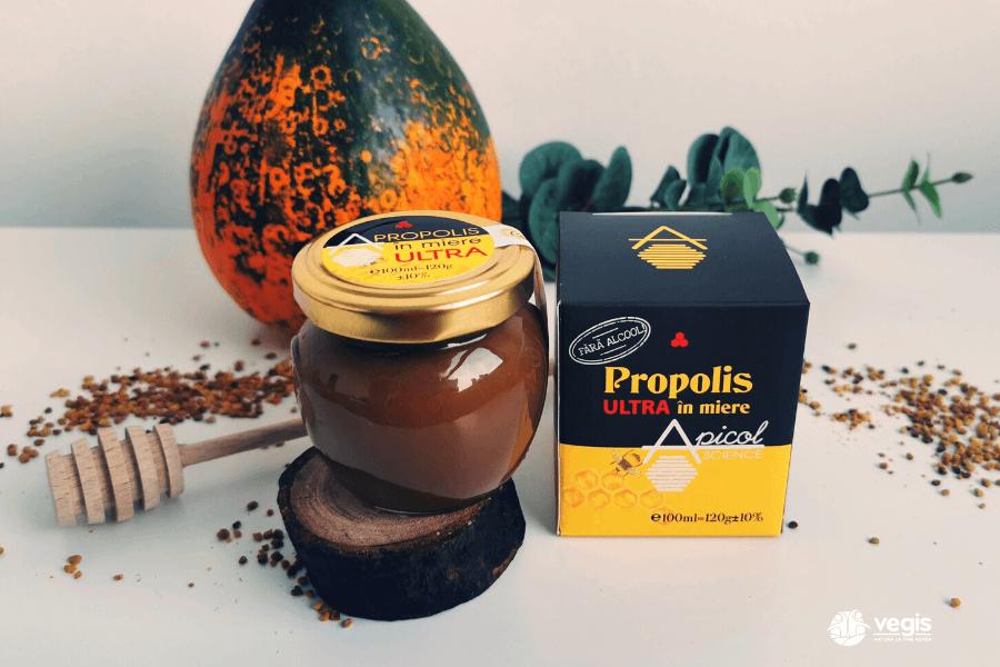 De ce sa consumi propolis în miere?