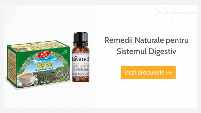 Remedii naturale sistem digestiv