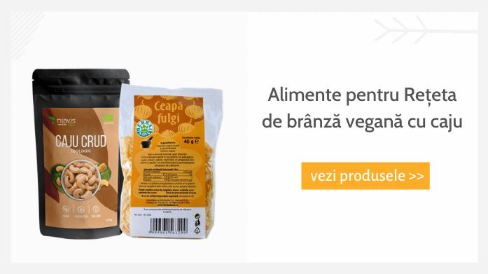 Alimente pentru Reteta de branza vegana cu caju