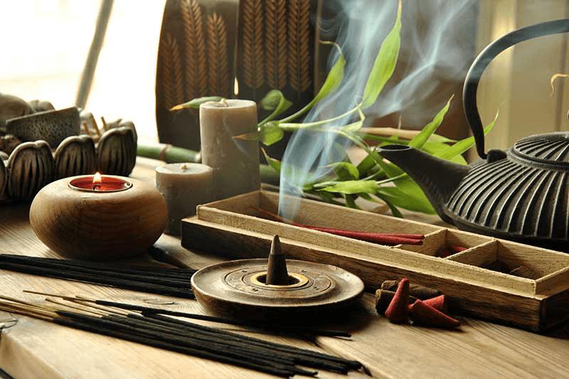 Efecte terapeutice tamaie - Meditatie