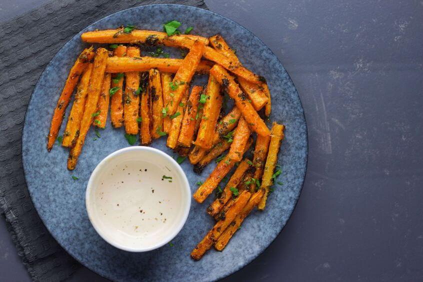 morcovi copti la cuptor