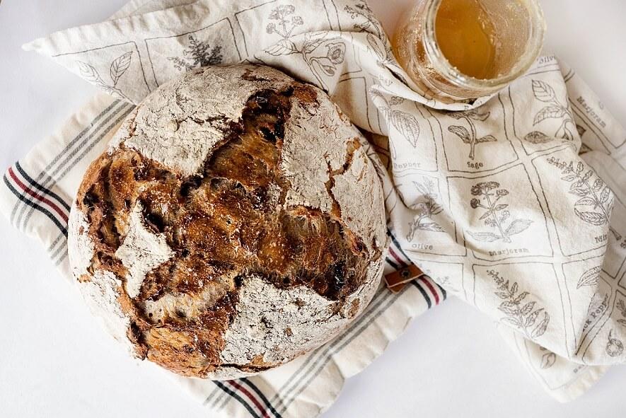 paine cu faina de secara