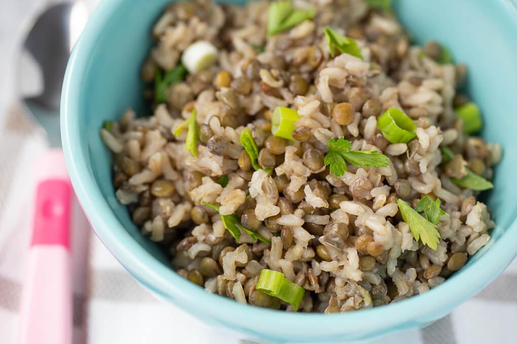 Mâncare de linte cu orez