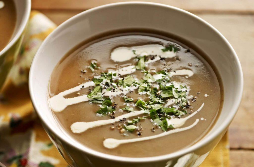 Supă cremă de castane
