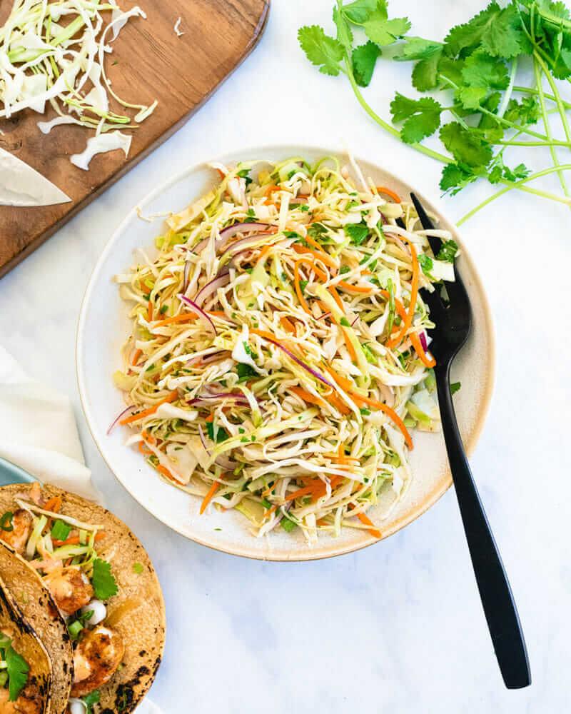 Salată de varză cu lime