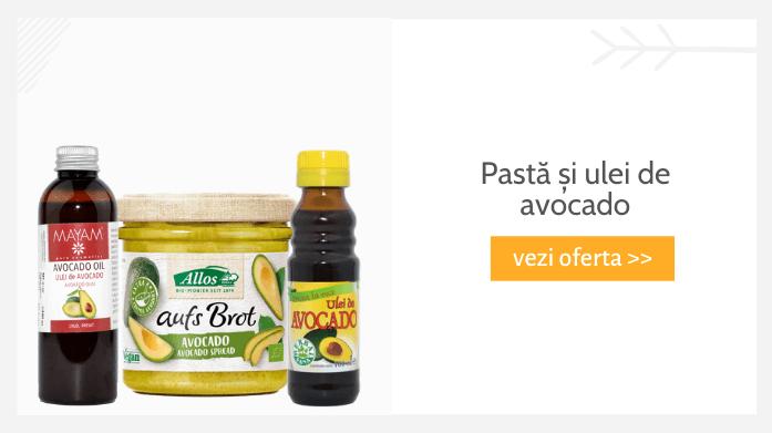 Pastă și ulei de avocado