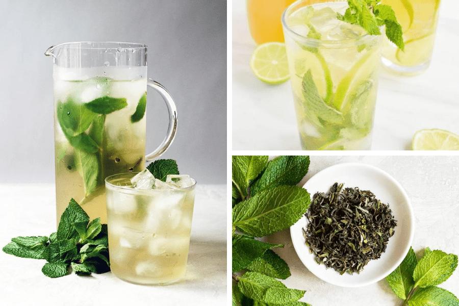 Băutură răcoritoare pe bază de ceai verde