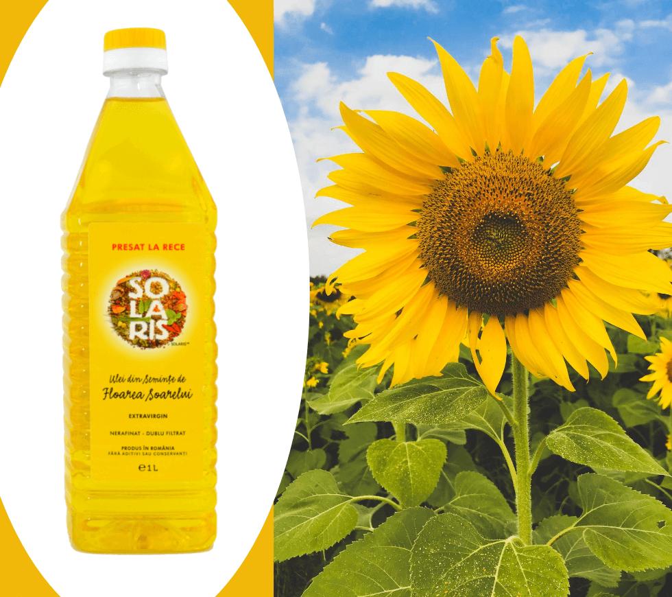 Ingredientele Solaris - Ulei de floarea soarelui