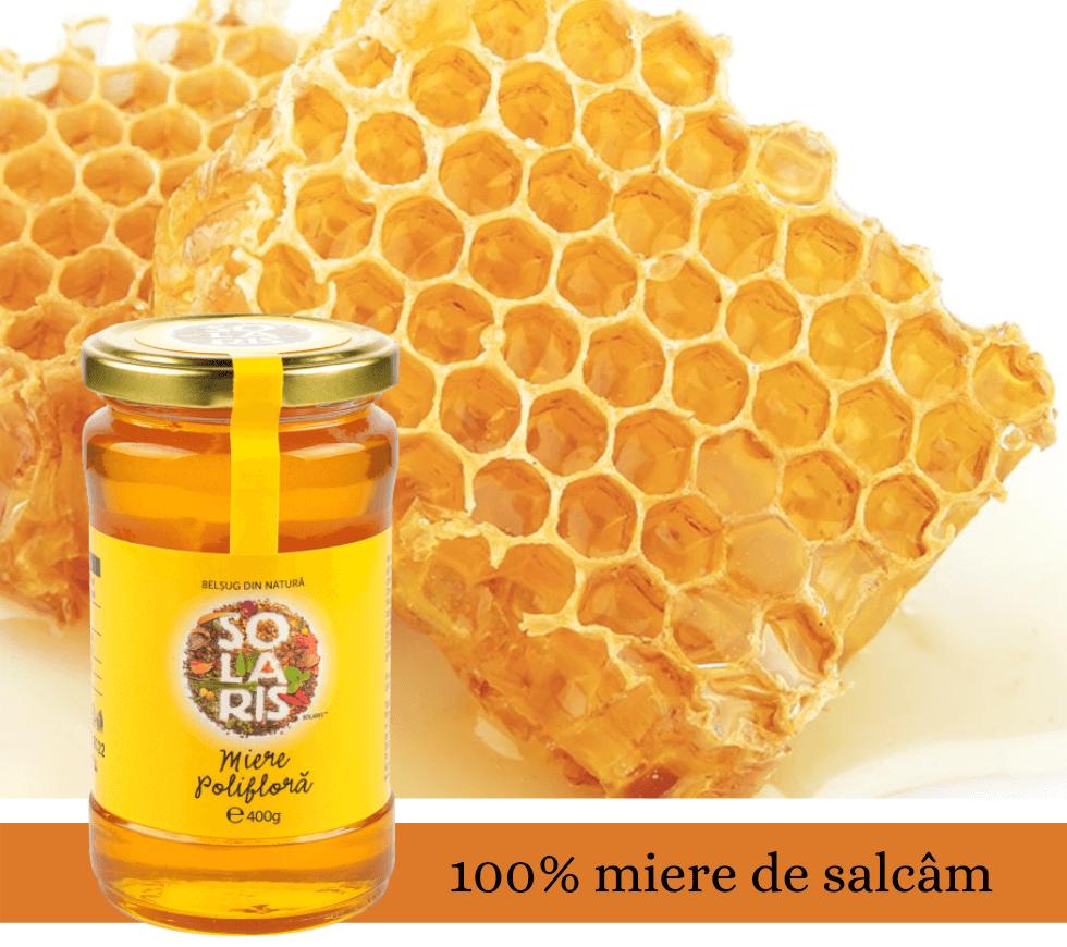 miere polifloră