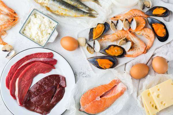 Alimente cu Vitamina B12