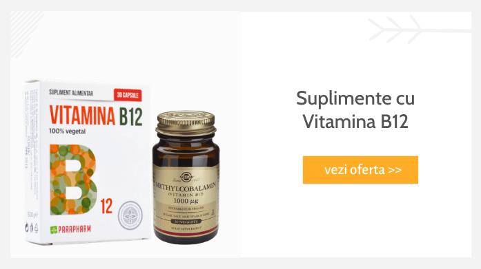 Suplimente cu vitamina B12