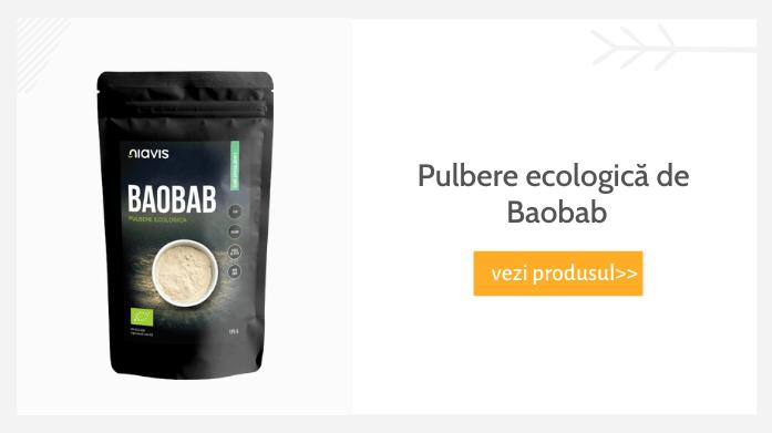 Pulbere ecologică de Baobab