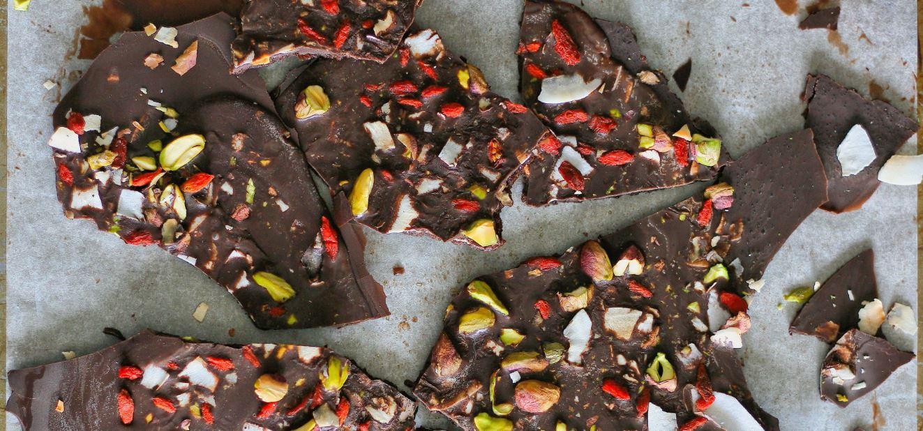 ciocolată cu goji