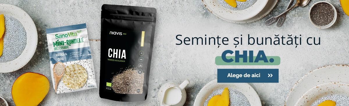 semințe și produse cu chia