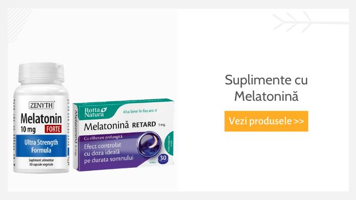 suplimente cu melatonină