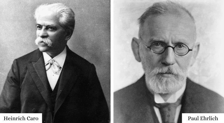 Heinrich Caro și Paul Ehrlich