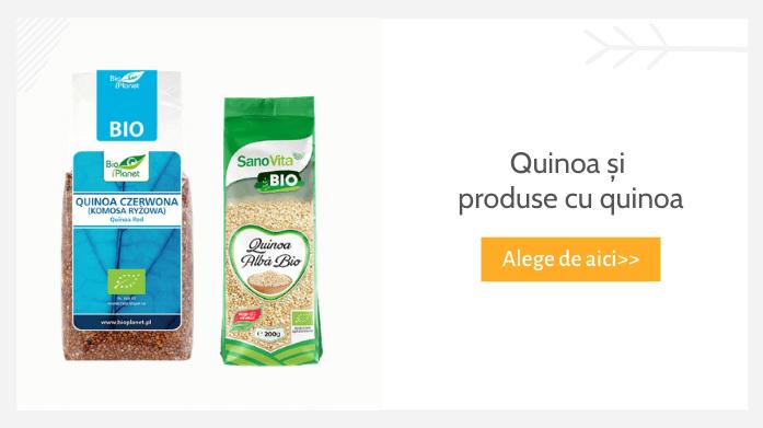 quinoa si produse cu quinoa